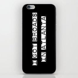 Broads 1 iPhone Skin