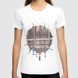 Waterlogged -  splash T-shirt
