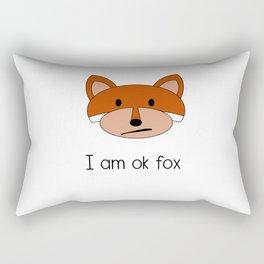 Ok Fox Rectangular Pillow