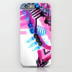 Blue, Pink and Black iPhone 6s Slim Case