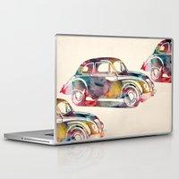 cars Laptop & iPad Skins featuring  cars  by mark ashkenazi