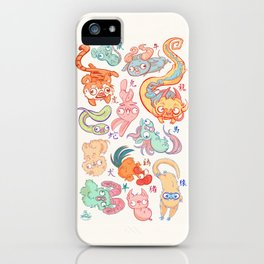 Chinese Animals of the Year iPhone Case