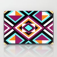 quilt iPad Cases featuring Quilt Pattern by k_c_s