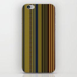 Vertical stripes #1 iPhone Skin