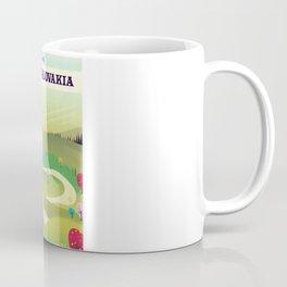 czechoslovakia travel poster Coffee Mug