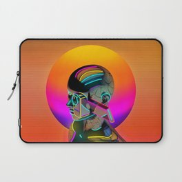Android with a movie camera Laptop Sleeve