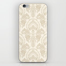 Damask Pattern iPhone Skin
