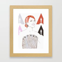 Julianne Framed Art Print