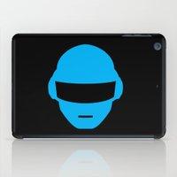 deadmau5 iPad Cases featuring Daft Punk Thomas Bangalter Helmet by Alli Vanes