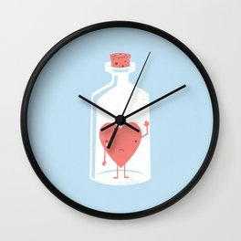 Let the LOVE Out Wall Clock