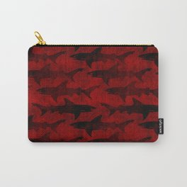 Blood Red Sharks Carry-All Pouch