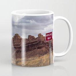 Wrong Way Coffee Mug