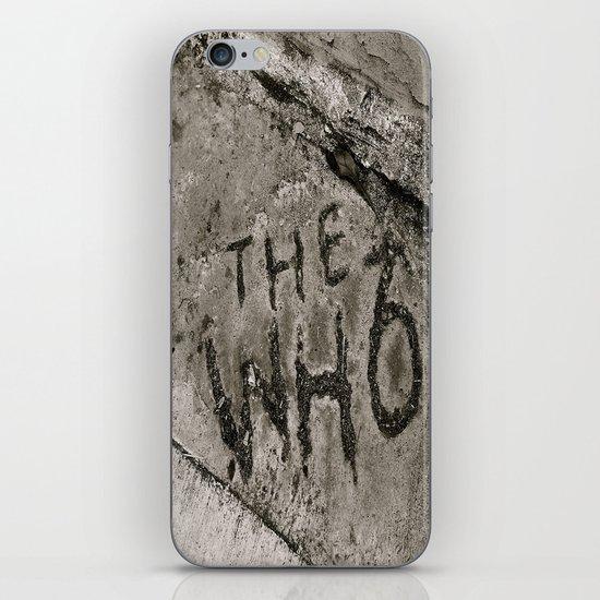 The Who iPhone & iPod Skin