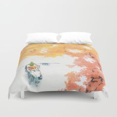 Autumn Drifting Duvet Cover