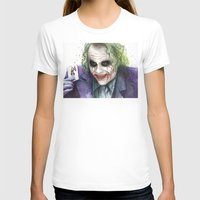 the joker T-shirts featuring Joker  by Olechka
