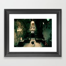 Low place like home Framed Art Print