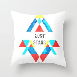 Are we all lost star ? Throw Pillow