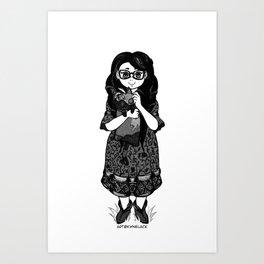 Cereza Art Print