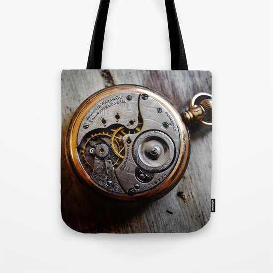 The Conductor's Timepiece - 1 Tote Bag