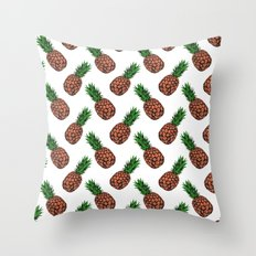 Neo-Pineapple - The Traditional Throw Pillow