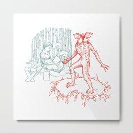 ST - Castle Byers Metal Print