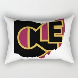 CLE, Ohio Rectangular Pillow