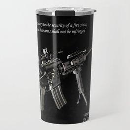 2nd Amendment Travel Mug