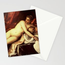 "Tintoretto (Jacopo Robusti) ""Leda and the swan"" Stationery Cards"