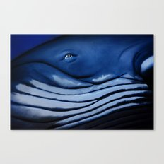 blue giant of the ocean Canvas Print