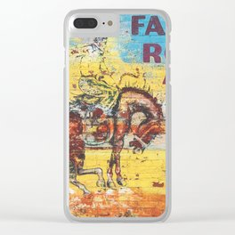 Fair & Rodeo Clear iPhone Case