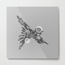 Hippie Bird Metal Print