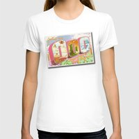 lemongrab T-shirts featuring Greetings from Ooo / Adventure Postcard by jerseytigermoth