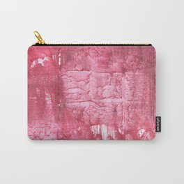 Cinnamon Satin abstract watercolor Carry-All Pouch