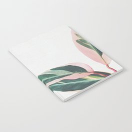 Pink Leaves II Notebook