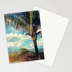 Beach Palm Stationery Cards