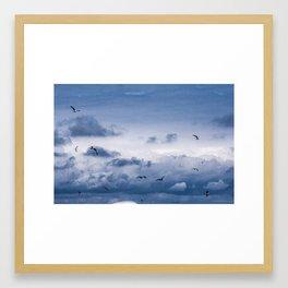 Beneath a Steel Sky Framed Art Print