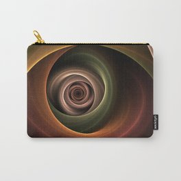 Fractal Depth And Warmth Carry-All Pouch