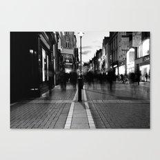 Star Light [Black & White] Canvas Print