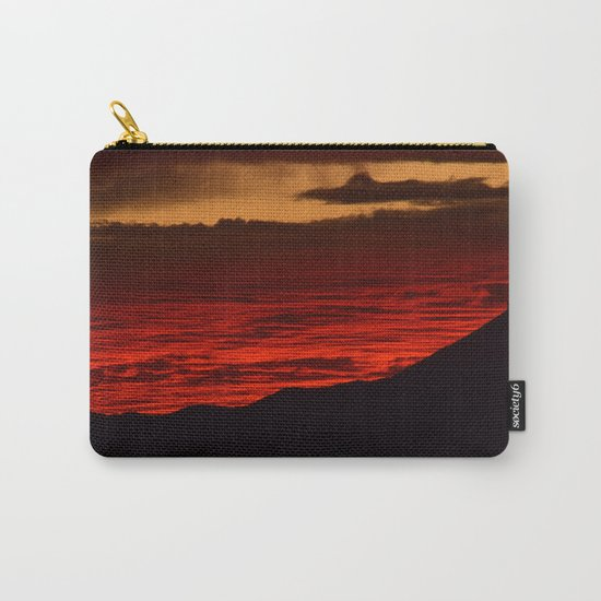 Red Hot Desert Sky Carry-All Pouch