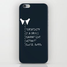 QUOTE-4 iPhone & iPod Skin