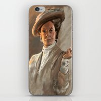 downton abbey iPhone & iPod Skins featuring Downton FU by Wanker & Wanker