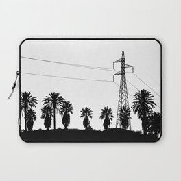 Power Pole Between Palms Laptop Sleeve