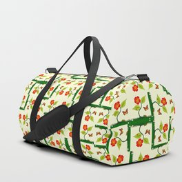 Plants and flowers Duffle Bag