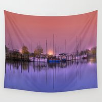 marina Wall Tapestries featuring Marina by Laake-Photos