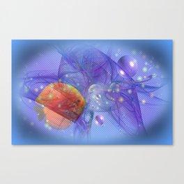 Fish world Canvas Print