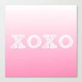 Valentine's special xoxo Canvas Print