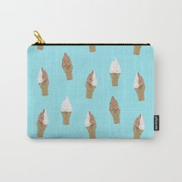 Soft Serve Ice Cream Carry-All Pouch