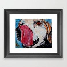 Beagle Art Framed Art Print