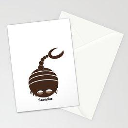 FAT ZODIAC (SCORPIUS) Stationery Cards