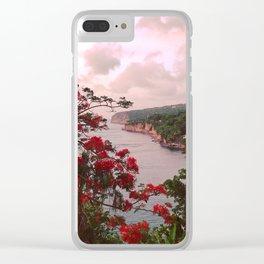Montserrat palace Clear iPhone Case